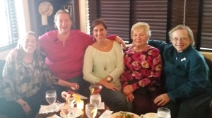 "Another ""happy"" Happy Hour for some ""Ladies of Embury Avenue"" - Stacey, Susan, Me, Jane & Betty :)  Cheers!"