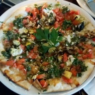 Amazing Grilled Veggie Pizza