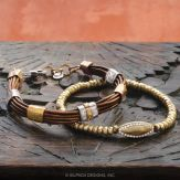 Tan Lines & Navette Stretch Bracelets
