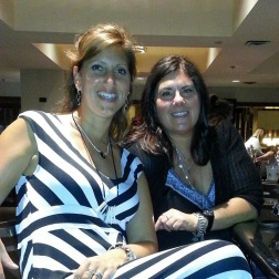 "Me & my ""Silpada Sister"" Sue :)"