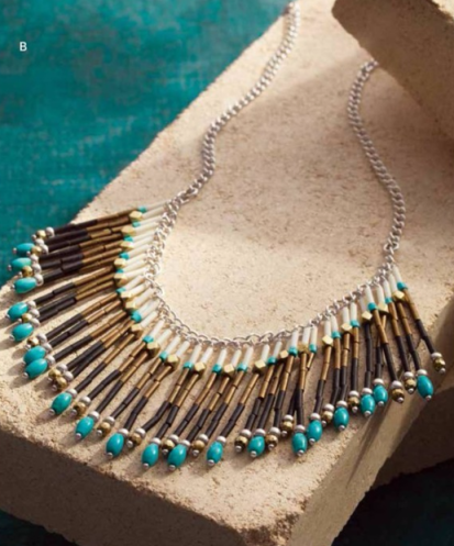 Free Spirit Fringe Necklace