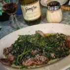 Broccoli Rabe w/Sausage, Mezzaluna, Palm Coast, FL