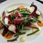 Grilled Octopus, Mister C's, Allenhurst, NJ