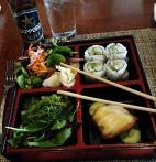 """Salmon """"Bento Box"""" - Taka, Asbury Park, NJ"""